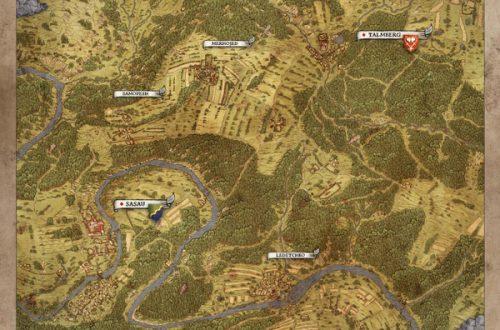 Карта мира в Kingdom Come: Deliverance