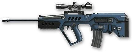 Warface: обзор автоматических (полуавтоматических) снайперских винтовок
