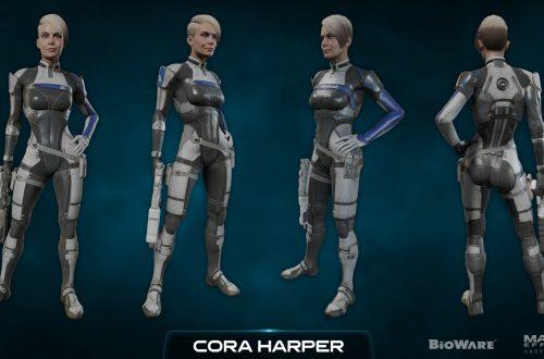 Роман с Корой в Mass Effect Andromeda (18+)