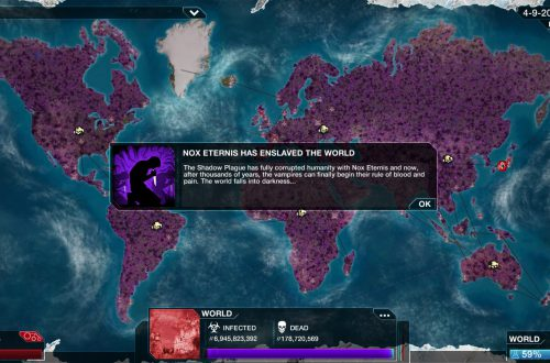 Plague Inc. Shadow Plague — прохождение за вампира