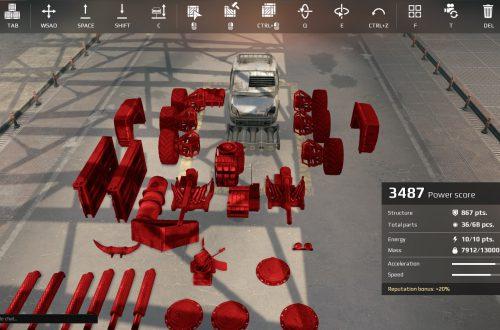 Гайд по Crossout: частые ошибки при создании машин (билдов)