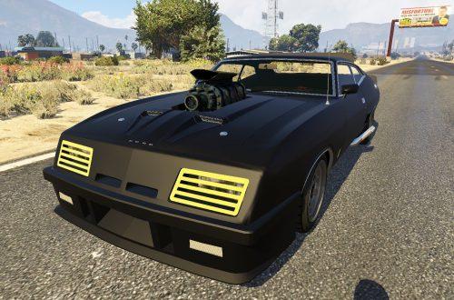 10 крутых транспортных средств из кинофильмов для GTA 5