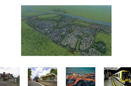 Строительная компания взяла скриншот из Cities: Skylines, выдавая его за реальный план города