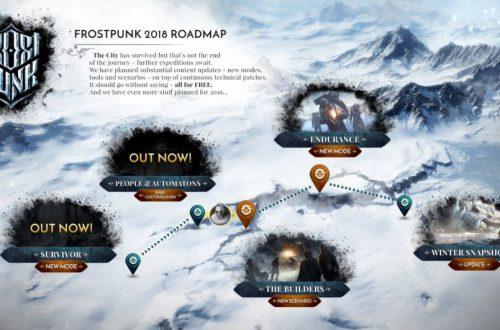 Бесплатное дополнение для Frostpunk добавило возможность давать имена людям и автоматонам
