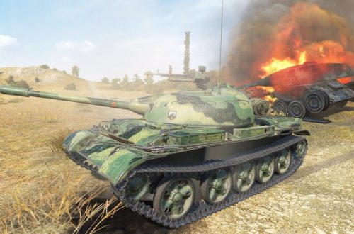 World of Tanks — гайд по Type 62