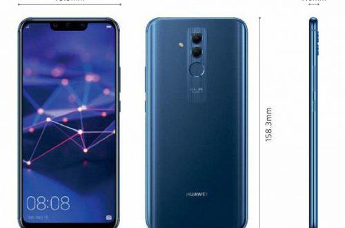 Появились новые рендеры смартфона Huawei Mate 20 Lite