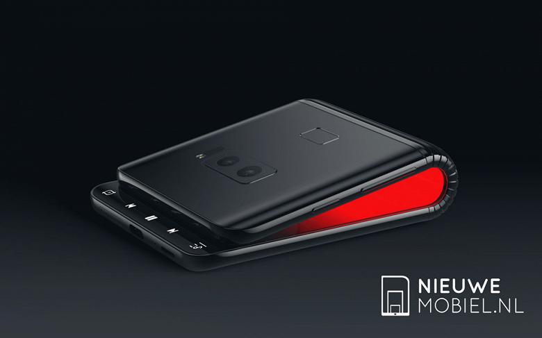 Фотогалерея дня: рендеры сгибающегося смартфона Samsung, созданные на базе имеющейся информации