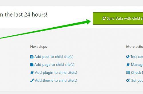 Управление несколькими сайтами WordPress Супер плагин