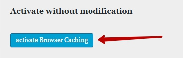 Как сделать кэширование в браузере для wordpress сайта ?