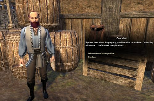 Как получить дом на Вварденфелле в Elder Scrolls Online: Morrowind