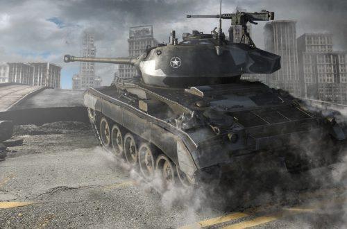 World of Tanks — гайд по М24 Сhaffee