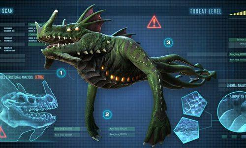Subnautica — борьба с агрессивными существами