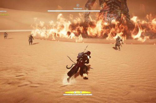Assassin's Creed: Origins. Прохождение испытания богов: Собек и Сехмет