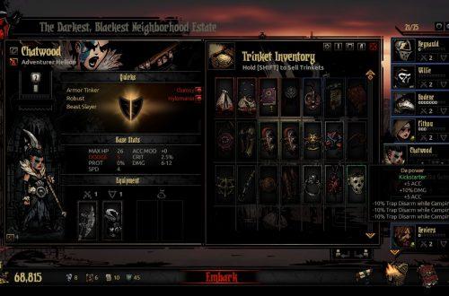 Darkest Dungeon: The Crimson Court. Гайд по украшениям