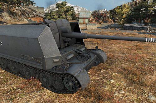 World of Tanks — гайд по PZ Sfl. IVc