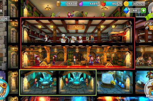 Устройство замка в Hustle Castle: Fantasy Kingdom