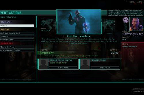 Прохождение XCOM 2: War of the Chosen — как разблокировать Храмовников