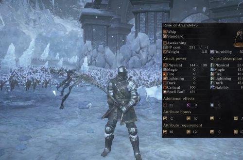 Dark Souls 3 — Ashes of Ariandel: новое оружие