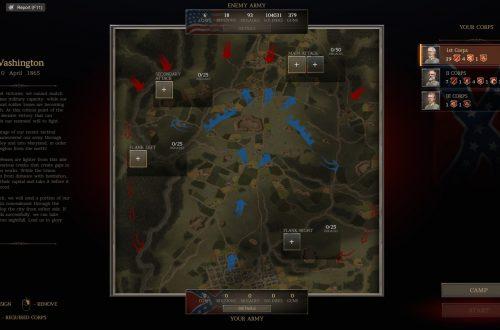 Ultimate General: Civil War — гайд по интерфейсу