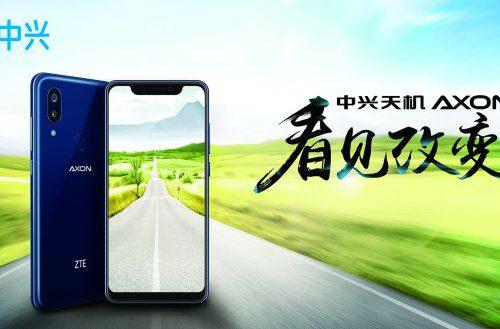 ZTE показала смартфон Axon 9 Pro