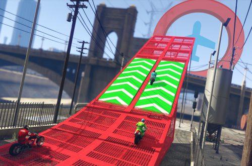 GTA Online: новые каскадёрские гонки в обновлении «Трансформации»