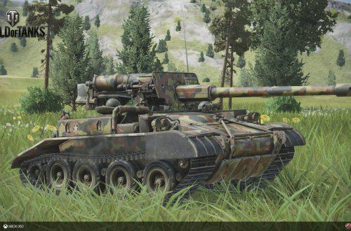 World of Tanks — гайд по M56 Scorpion