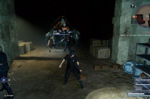 Прохождение Final Fantasy XV: Глава 2 – Назад пути нет