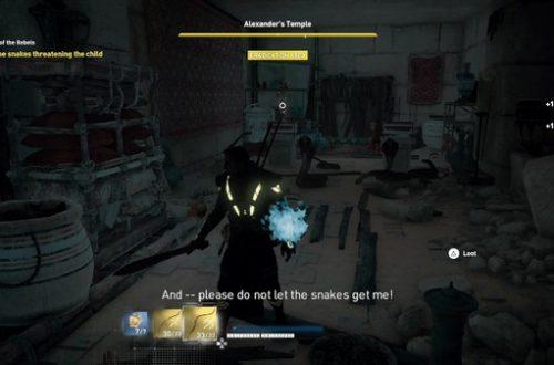 Assassin's Creed: Origins. Прохождение побочных заданий (часть 4)