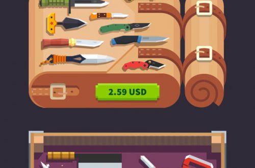 Flippy Knife: как быстро заработать монеты в игре