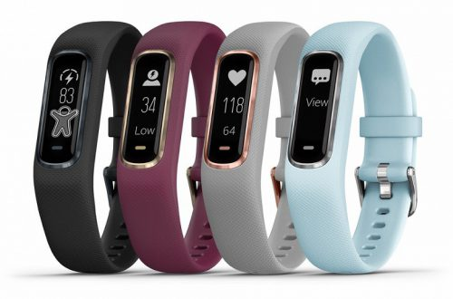 Фитнес-трекер Garmin vivosmart 4 получил новый дизайн и поддержку пульсовой оксиметрии