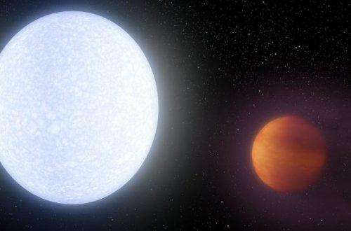 На этой сверхгорячей экзопланете — настоящий «железный занавес» вместо неба