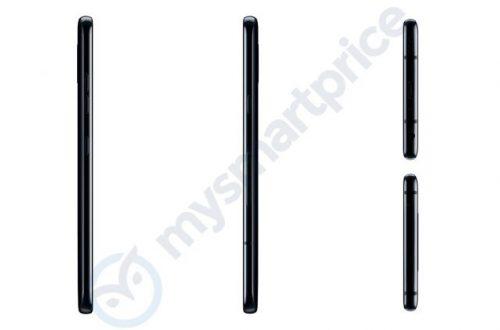 Первые пресс-рендеры смартфона LG V40 ThinQ показали пять камер
