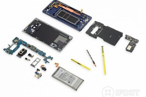 Samsung Galaxy Note9 оказался самым модульным смартфоном в серии