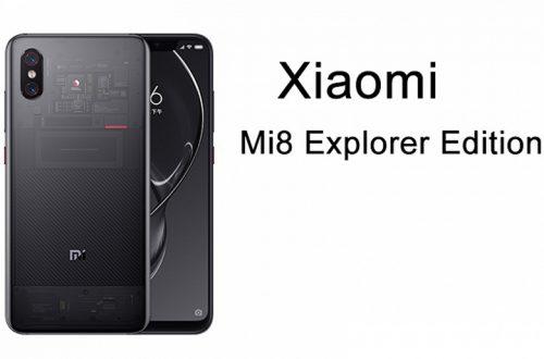 Смартфон Xiaomi Mi 8 Explorer Edition доступен по сниженной цене