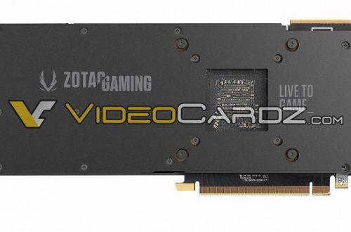 3D-карты Zotac GeForce RTX 2080 Ti и RTX 2080 AMP получат удлиненную систему охлаждения