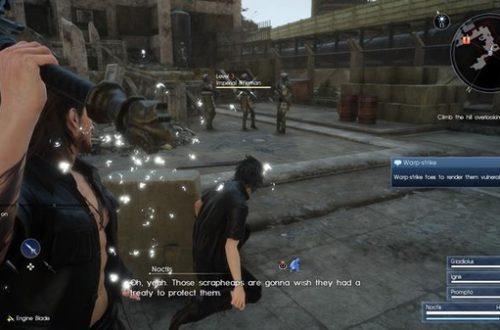 Прохождение Final Fantasy XV: Глава 1 – Отъезд