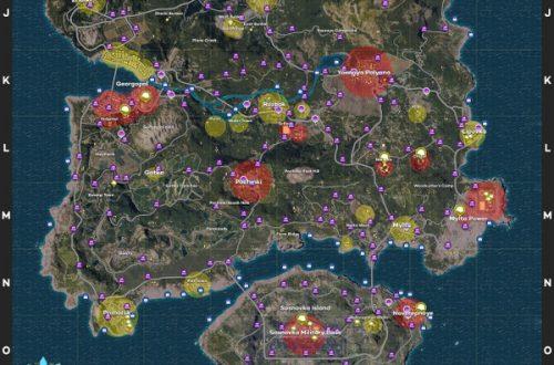 PlayerUnknown's Battlegrounds: гайд по точкам спауна оружия, добычи и транспорта