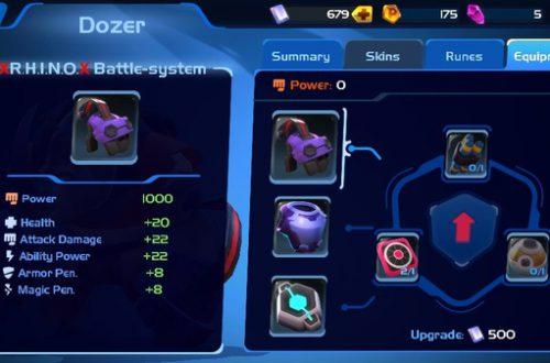 Planet of Heroes: Дозер