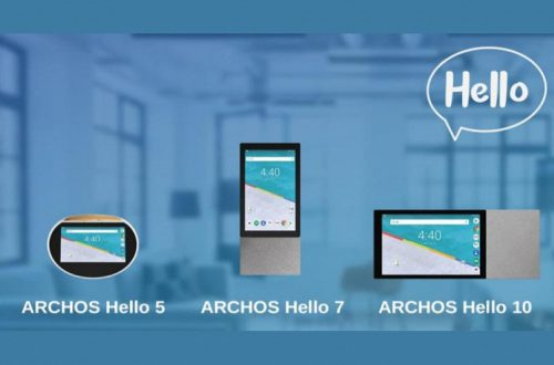 Умные дисплеи Archos Hello 5, 7 и 10 сочетают помощник Google с полноценной ОС Android 8.1.