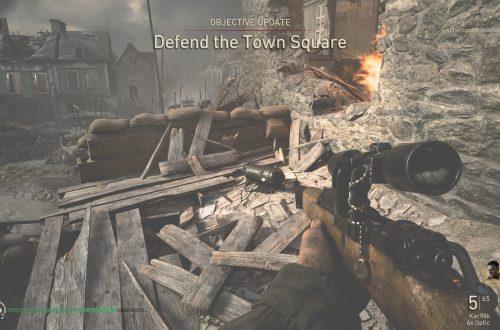 Прохождение Call of Duty: WW2 — Операция «Цитадель»