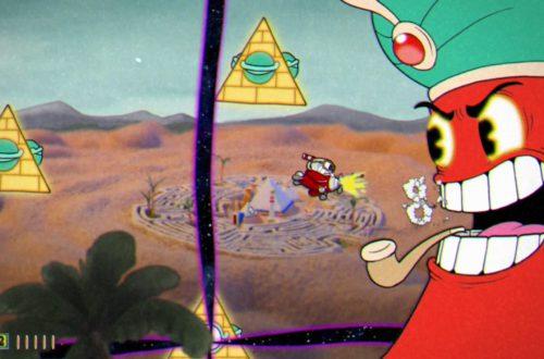 Cuphead: прохождение боссов (Pyramid Peril)