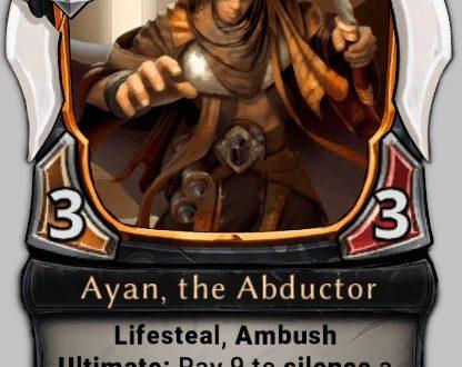 Колоды Eternal Card Game: Lifeforce + Lifesteal