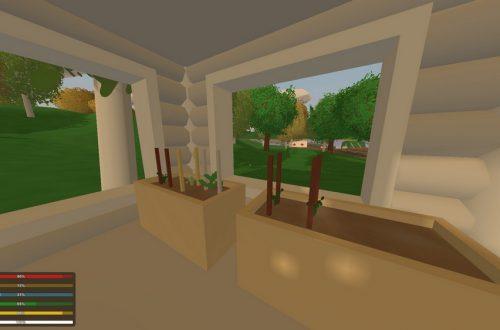 Unturned 3.2: строим дом