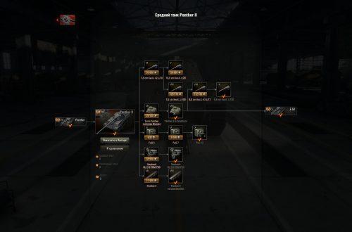 World of Tanks: гайд по Panther II