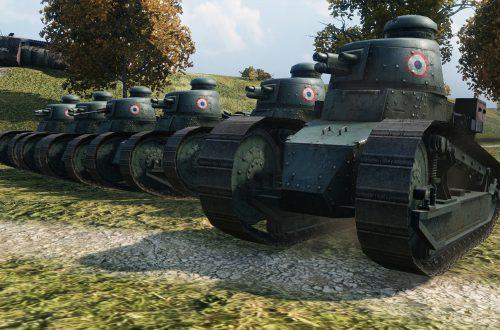 World of Tanks — гайд по Renault FT