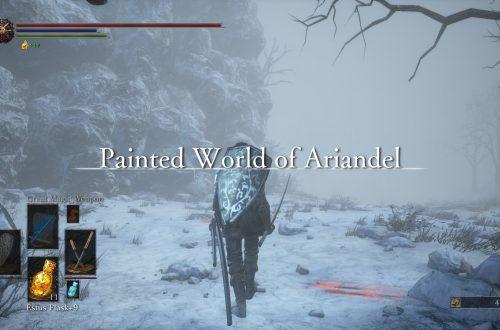 Dark Souls 3 — Ashes of Ariandel: как начать прохождение
