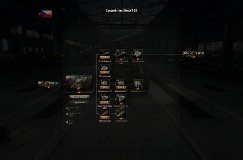 World of Tanks: гайд по Škoda T-25