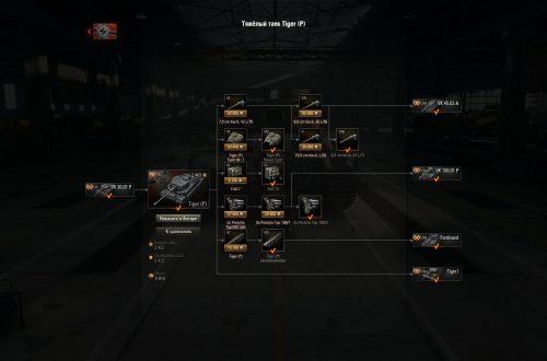 World of Tanks: гайд по Tiger (P)