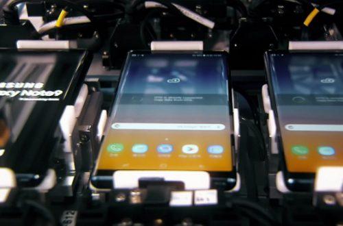 Видео дня: производство смартфона Samsung Galaxy Note 9