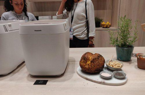 Panasonic Croustina — хлебопечка, позволяющая выпекать хлеб с корочкой